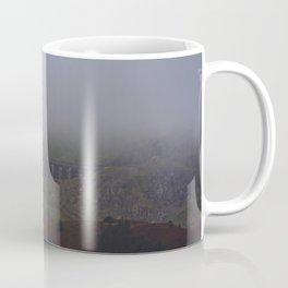 Fog Over The Stwlan Dam Coffee Mug