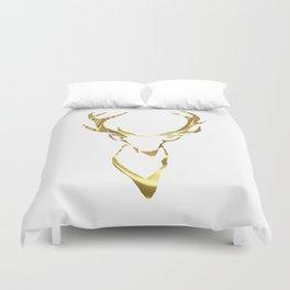 Gold Stag Duvet Cover