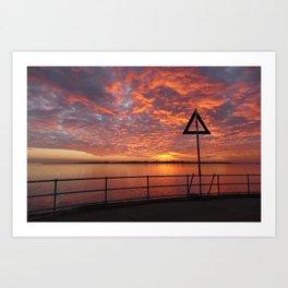 Brightlingsea, Essex Art Print