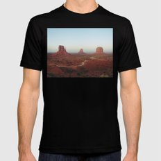 Monument Valley Mens Fitted Tee Black MEDIUM