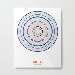 New York (Queens) rings Metal Print