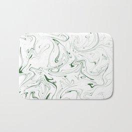 Skinny Green Bath Mat