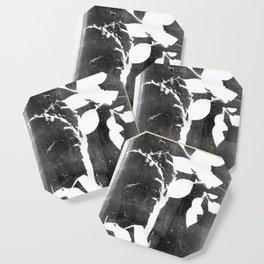 Falling Leaves (Leaf Monotype Print Series) Coaster