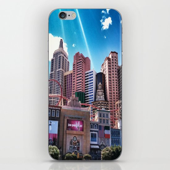 Las Vegas New York New York.!  iPhone & iPod Skin