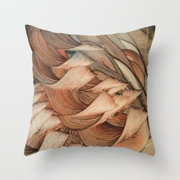 Haia Throw Pillow