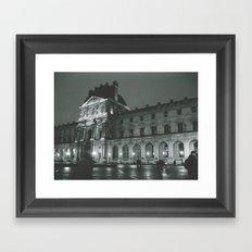 Tempo Framed Art Print