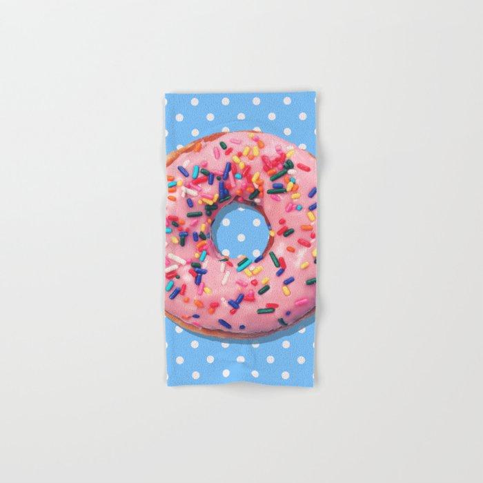 Donut Hand & Bath Towel