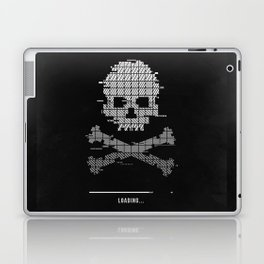 Loading death 8bit art Laptop & iPad Skin