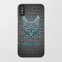 transformers iPhone & iPod Cases featuring Autocats Transformers by Enrique Valles