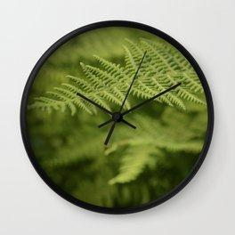 Jane's Garden - Fern Fronds Wall Clock