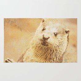 Vintage Animals - Otter Rug