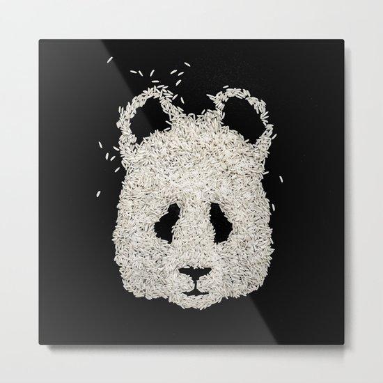 Ricebear Metal Print