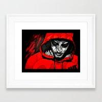 justin timberlake Framed Art Prints featuring Justin by JD Higham