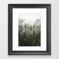 Porcupine ridge (clarity) Framed Art Print