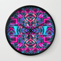 passion Wall Clocks featuring Passion by Ornaart