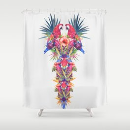 Parrot Kingdom Shower Curtain