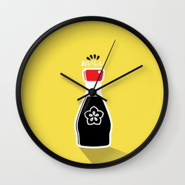 In My Fridge - Soy Sauce Wall Clock