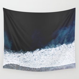Ocean III (drone photography) Wall Tapestry