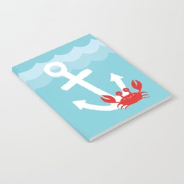 Anchor's Away Crab Notebook