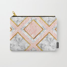 Gold and marble Carry-All Pouch