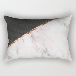 Marble fashion texture Rectangular Pillow
