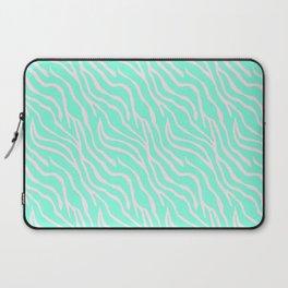 Green zebra Laptop Sleeve