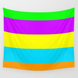 Neon Mix #4 Wall Tapestry