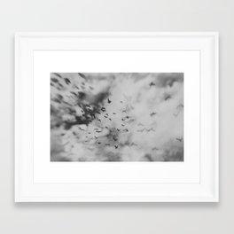 Scattered Mind Framed Art Print