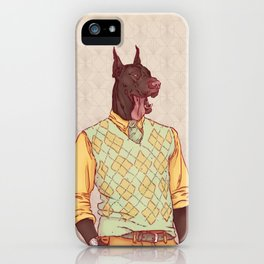 Rudolph the Great Dane iPhone Case