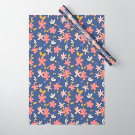 Dancing Florals Wrapping Paper