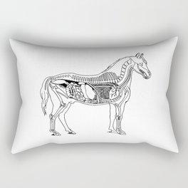 Horse (Inside) Rectangular Pillow