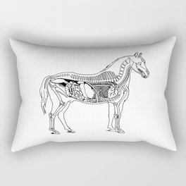 Horse (Inside) Rectangular Pillow