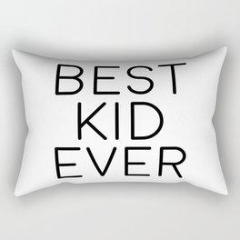 Best Kid Ever, Wall Print, Nursery Print, Nursery Art Rectangular Pillow