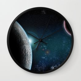 Planet X2 Wall Clock