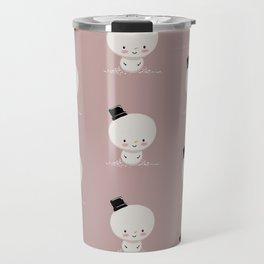 Snowman cutie Travel Mug