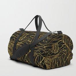 gold bits Duffle Bag