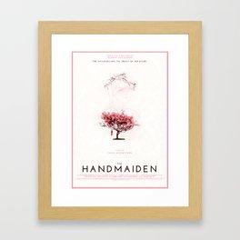 The Handmaiden (2016) dir. Park Chan-Wook Alternative Poster Design Framed Art Print