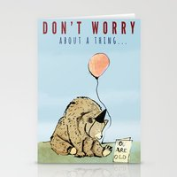 birthday Stationery Cards featuring Birthday by Emily Stalley