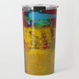 Baron Modern Art Black Travel Mug