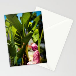 Statue In Melrose Stationery Cards
