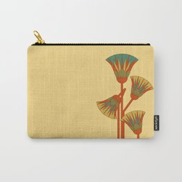 Ancient Egyptian lotus - Colorful Carry-All Pouch