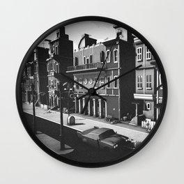 Inner Town - Cuba Havana Wall Clock