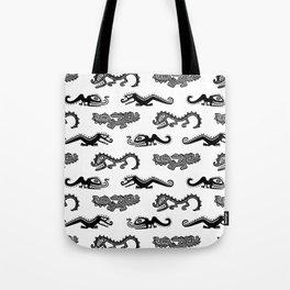 Alligator Dance Party Tote Bag