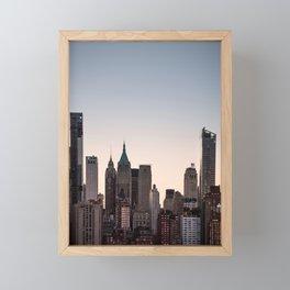 Skyscrapers Framed Mini Art Print