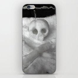 Snow Skull iPhone Skin