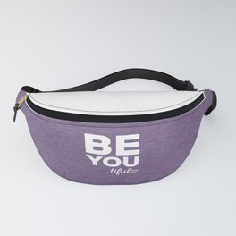 Be-You-Tiful Positive Quote Fanny Pack