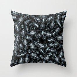 Grenades Throw Pillow