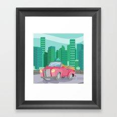 CAR (GROUND VEHICLES) Framed Art Print
