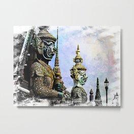 Bangkok palace I Metal Print