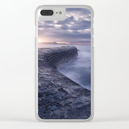 Sea Serpent Clear iPhone Case